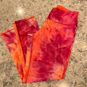 rbx neon tie dye leggings
